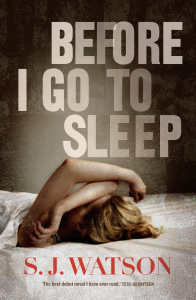 Before I Go To Sleep By SJ Watson